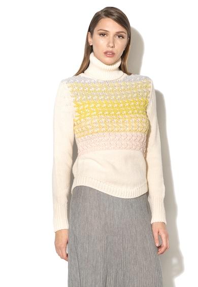 Stefanel Pulover tricotat cu guler inalt Femei