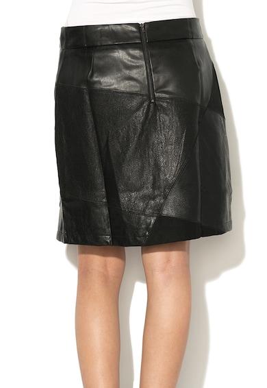 DESIGUAL Разкроена пола Henry от изкуствена кожа Жени