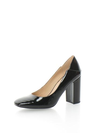 Geox Pantofi cu toc inalt si varf patrat Symphony Femei