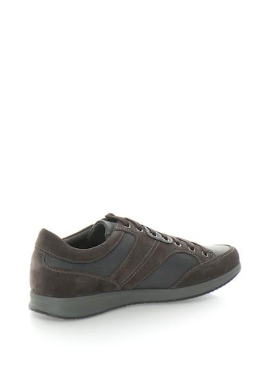 Geox Pantofi sport din piele sintetica Avery Barbati