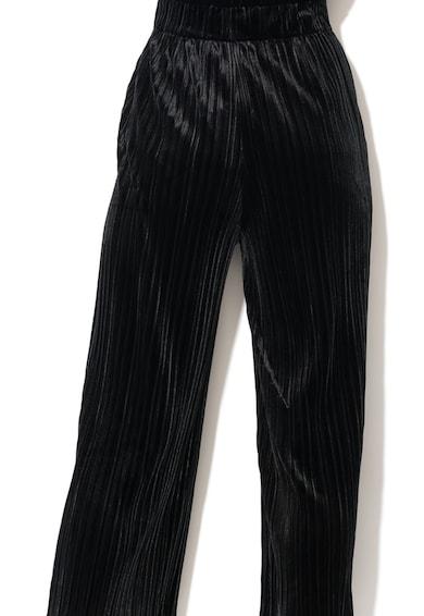 Fornarina Pantaloni culotte cu pliuri si banda elastica in talie Anita Femei