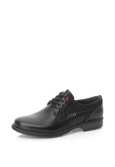 U.S. Polo Assn. Pantofi derby de piele si piele intoarsa Sefton Barbati
