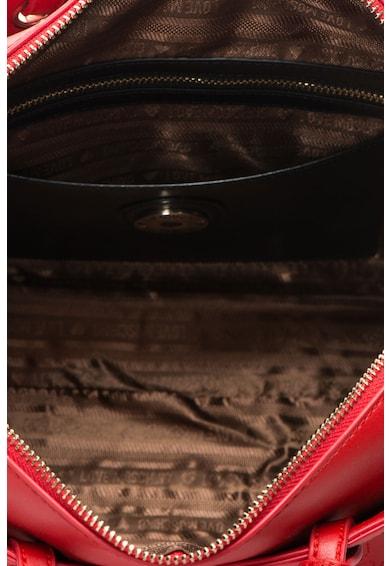 Love Moschino Geanta bowler din piele sintetica cu text brodat Femei
