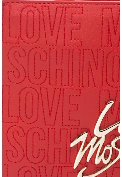 Love Moschino Geanta mica din piele sintetica cu bareta detasabila Femei
