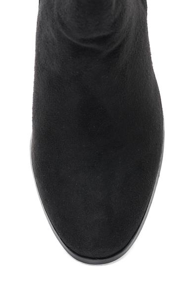 Oakoui Botine de piele intoarsa sintetica cu aplicatie din strasuri Femei