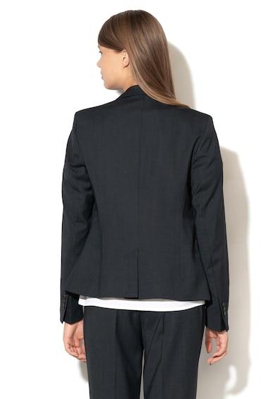 Esprit Slim fit blézer hasított zsebekkel az elején női
