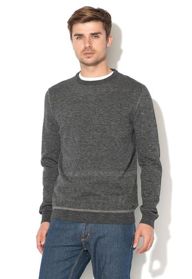 Esprit Памучен пуловер с изчистен десен Мъже