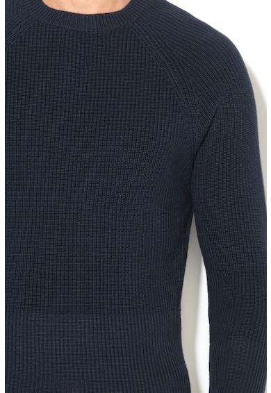 Esprit Плетен пуловер с рипсен подгъв Мъже