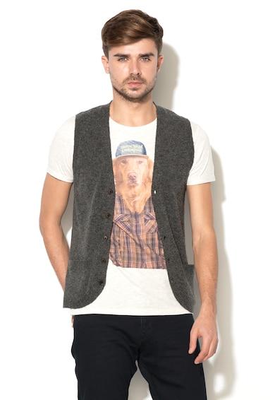 Esprit Плетена жилетка без ръкави Мъже