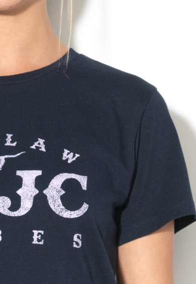 Juicy Couture Tricou cu imprimeu text Femei