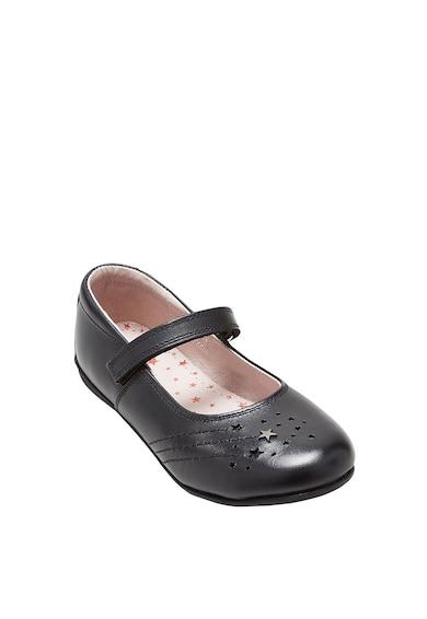 NEXT Bőr Mary Jane cipő párnázott talpbetéttel Lány