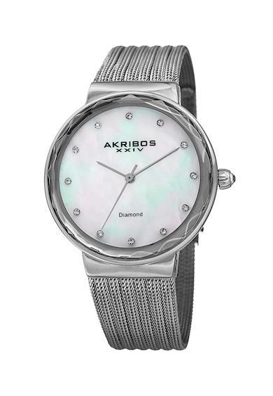AKRIBOS XXIV Часовник с 12 диаманта Жени