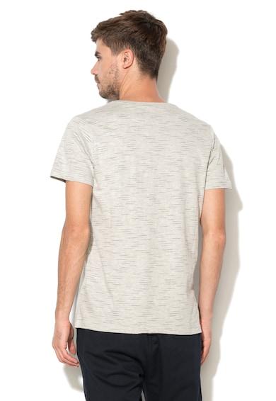 Greystone Тениска с текстова щампа и овално деколте Мъже
