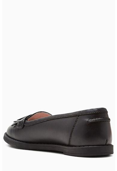 NEXT Pantofi loafer de piele, cu franjuri Fete