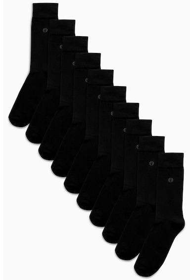 NEXT Set de sosete cu logo discret - 10 perechi Barbati