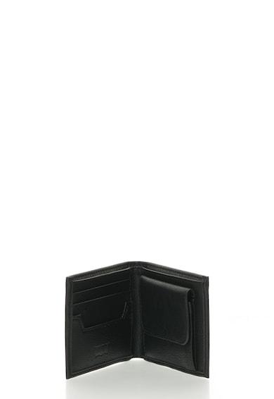 Levi's Portofel pliabil de piele sintetica cu logo in relief Barbati