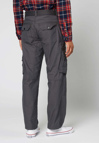 NEXT Pantaloni cargo cu o curea Barbati