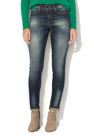 United Colors of Benetton Blugi super skinny cu aspect decolorat Femei