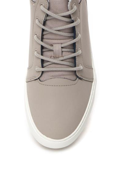 Lacoste Középmagas Szárú Bőr és Textil Anyagú Sneakers Cipő női