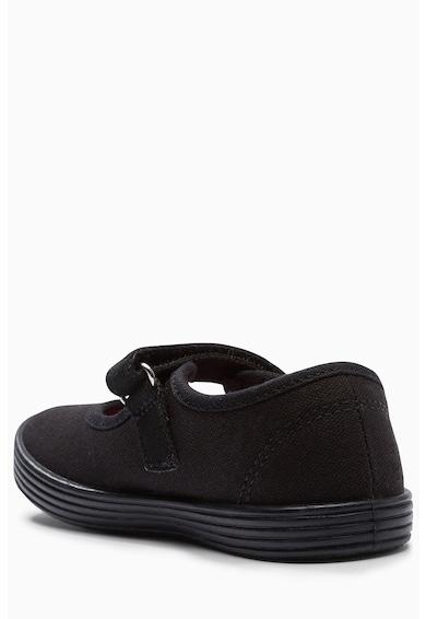 NEXT Könnyű súlyú vászon pántos plimsolls cipő Lány