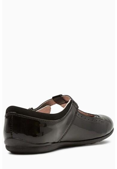 NEXT Narrow Fit lakkbőr cipő 2 Lány