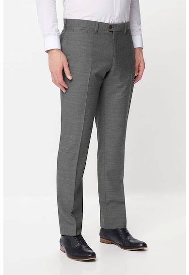 NEXT Официален панталон със стандартна кройка и вълна Мъже