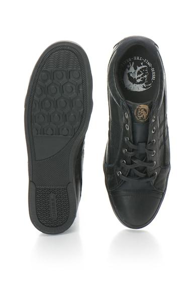 Diesel S-Tage sneakers bőrcipő logóval férfi