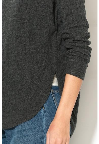 JdY Пуловер Blues с овален подгъв Жени