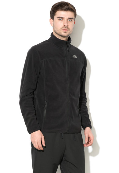 The North Face Bluza de fleece cu fermoar si logo brodat Glacier Barbati