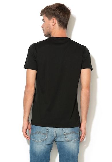 Lacoste Kerek nyakú póló kis logós foltrátéttel férfi