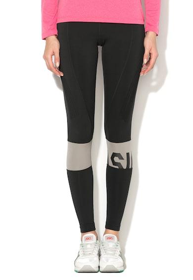 Asics Fitnesz Leggings Bordázott Részletekkel női