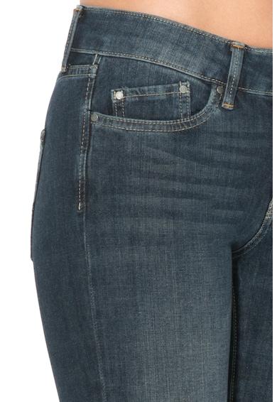 Pepe Jeans London Blugi skinny cu aspect decolorat Pixie Femei