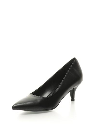 Zee Lane Pantofi de piele sintetica cu toc kitten Adeline Femei