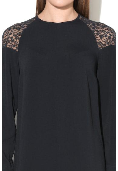 Stella McCartney Rochie evazata cu insertie de dantela Femei