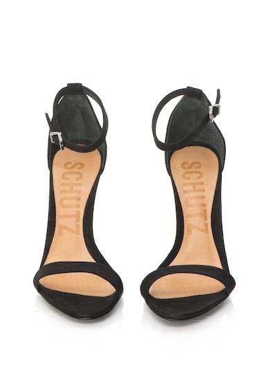 Schutz Sandale de piele nabuc cu toc inalt Cadey-Lee Femei