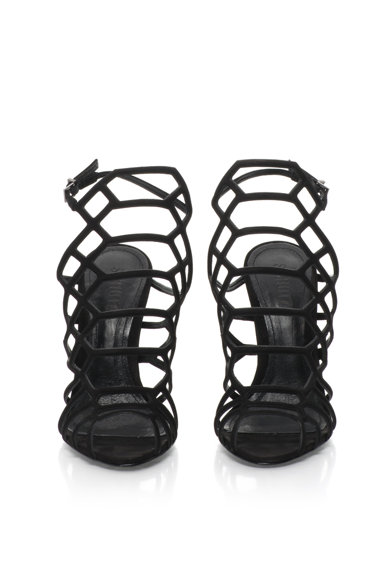 Schutz Sandale cu barete multiple si toc stiletto Femei