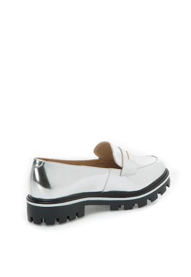 Schutz Pantofi loafer de piele sintetica lacuita cu toc jos Femei