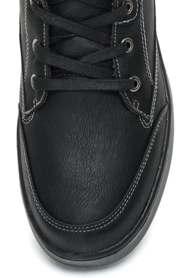 Goodyear Pantofi sport mid-high de piele sintetica cu fermoar lateral Barbati