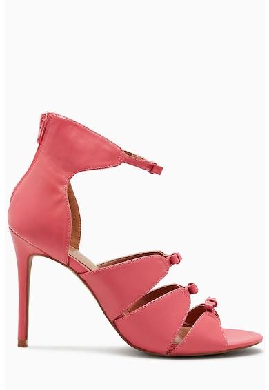 NEXT Sandale de piele cu funda Femei