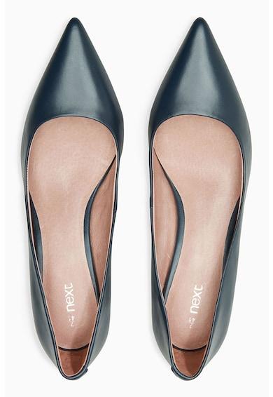 NEXT Pantofi de piele cu varf ascutit 152484 Femei