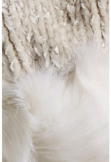NEXT Fular cu garnituri de blana sintetica Chenille Femei