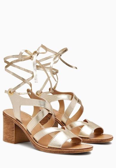 NEXT Sandale de piele cu siret Femei