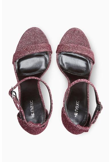 NEXT Sandale cu toc inalt si aspect stralucitor Femei
