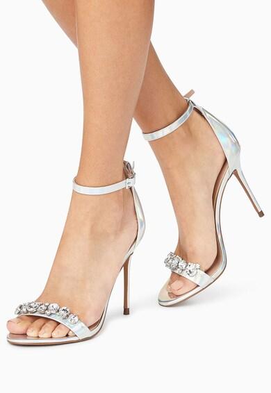NEXT Sandale cu toc inalt si aplicatie din strasuri Femei