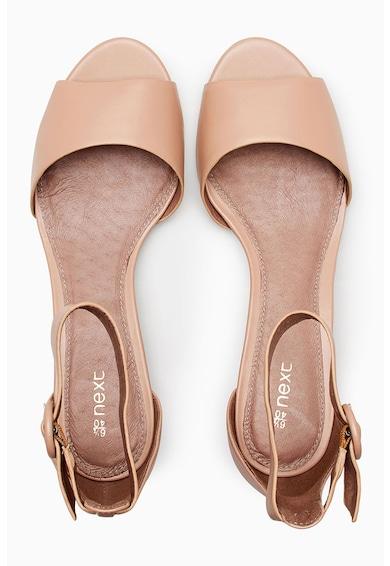 NEXT Sandale wedge din piele sintetica Femei