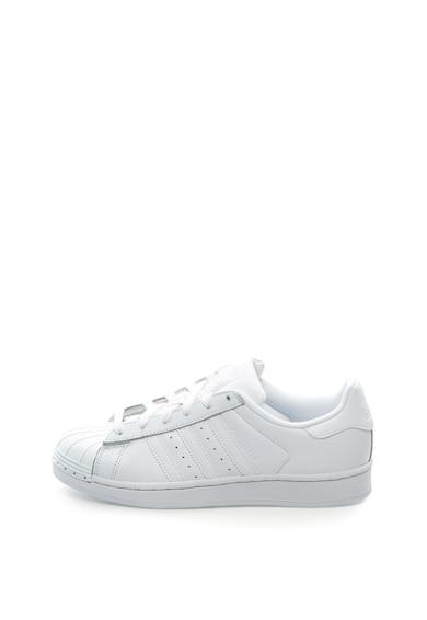 Adidas ORIGINALS Pantofi sport cu segmente de piele Superstar Femei