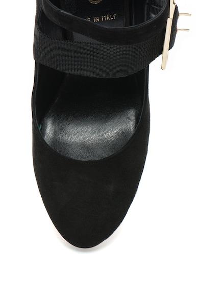 Liu Jo Pantofi de piele intoarsa cu bareta cu catarama Femei