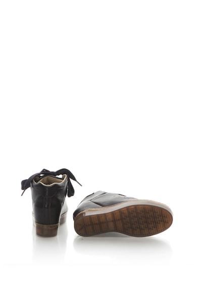 Liu Jo Pantofi sport mid-high de piele cu platforma wedge ascunsa Naoko Femei