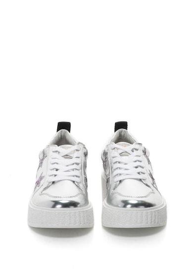 Juicy Couture Pantofi sport flatform de piele sintetica cu detalii stralucitoare Daisy Femei