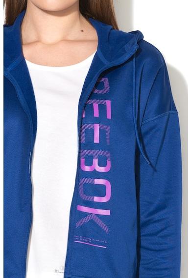Reebok Sport Hanorac cu fermoar si logo Femei